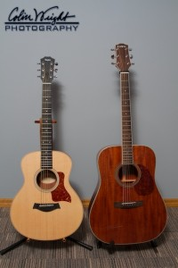 Taylor GS Mini and Carvin Cobalt C350