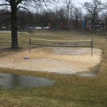 No Sand Volleyball Today