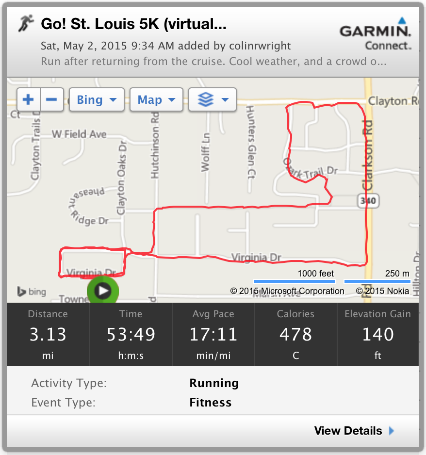 Go! St. Louis 5K (virtual)